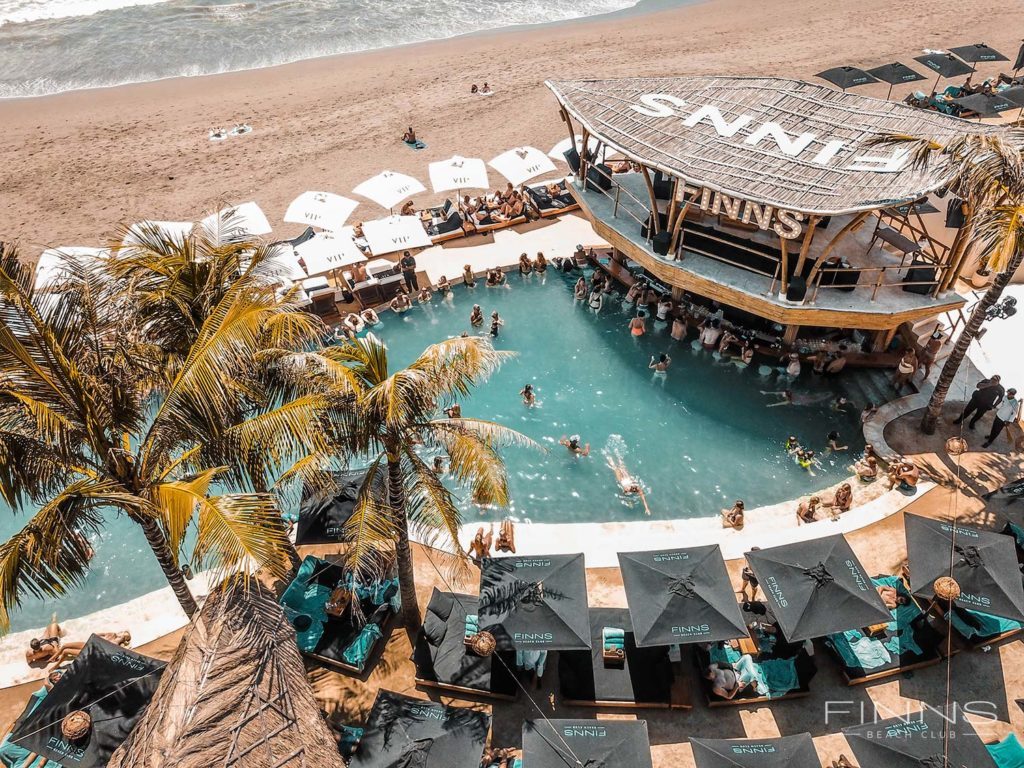 Finns Beach Club di Canggu Bali