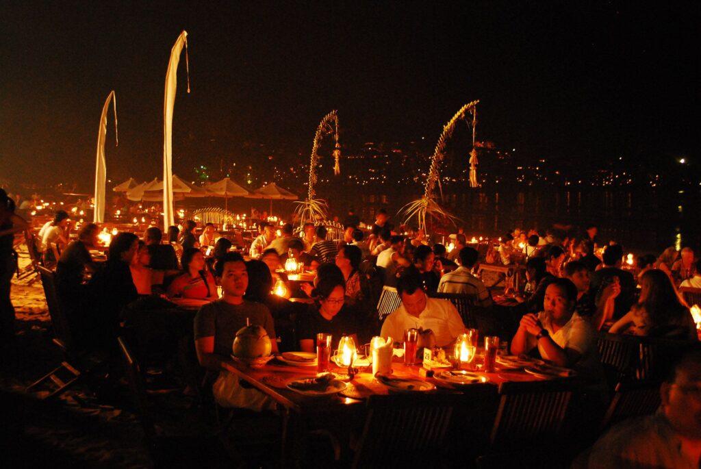 Tempat Wisata Kuliner di Jimbaran Bay Restoran