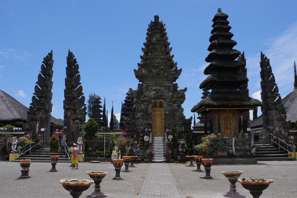 Tempat Wisata Pura Ulundanu Batur Kintamani