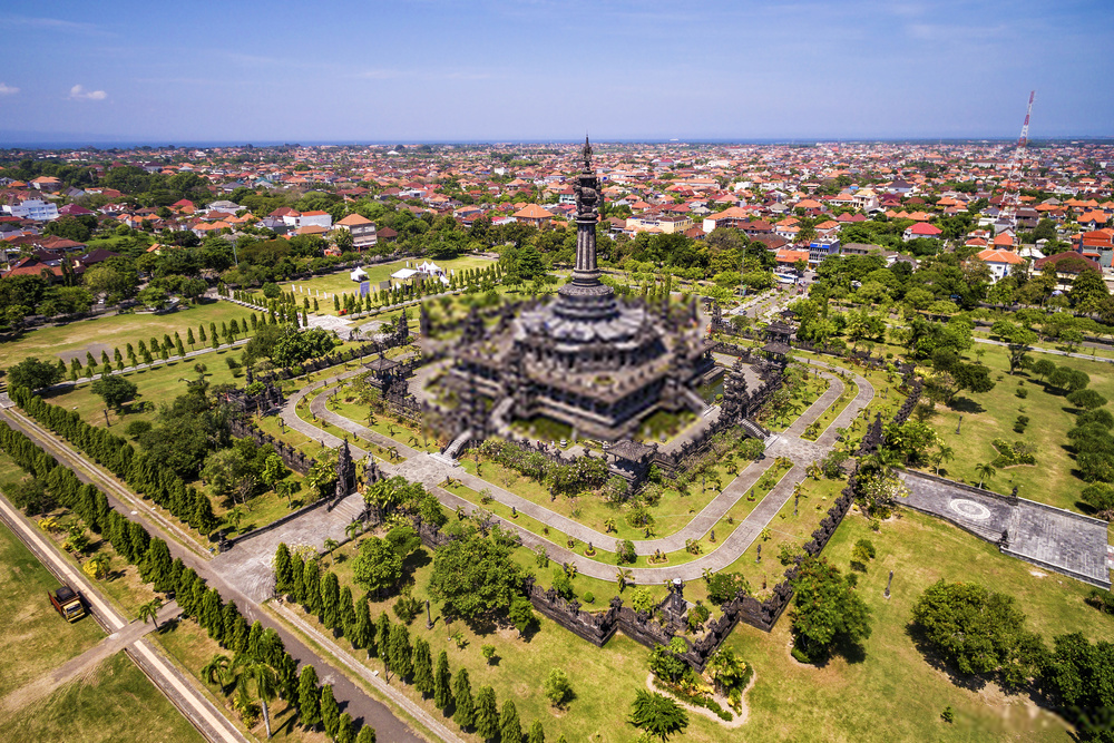 Tempat Wisata Monumen Bajra Sandhi Renon Denpasar Bali