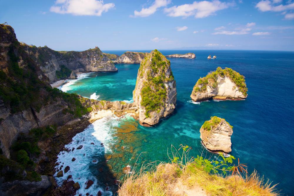 Objek Wisata di Bukit Atuh Nusa Penida