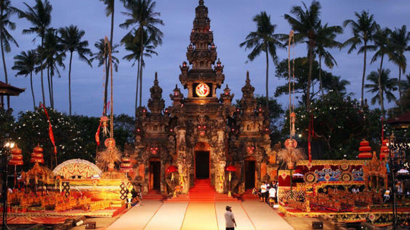 Panggung di Art Center Denpasar Bali